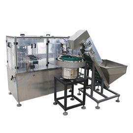 Aluminum Cap Cork assembly and folding machine