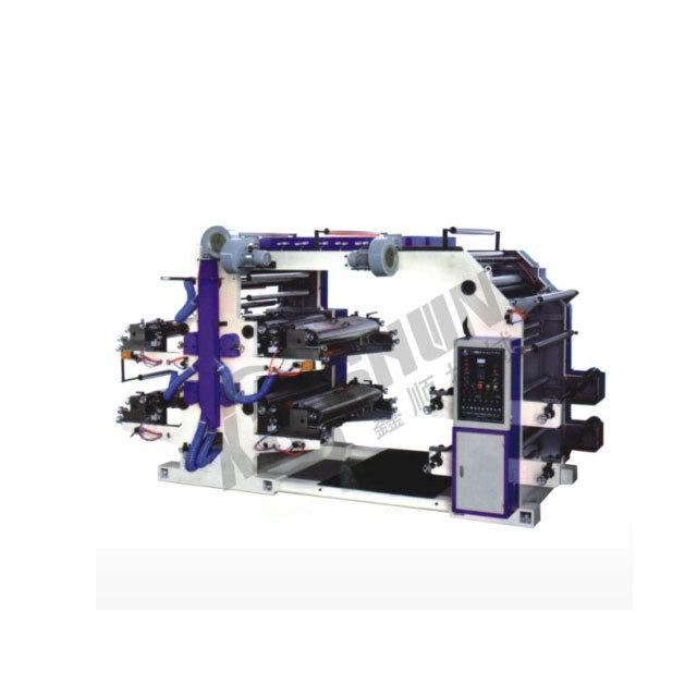 YT系列四色柔性凸版印刷机