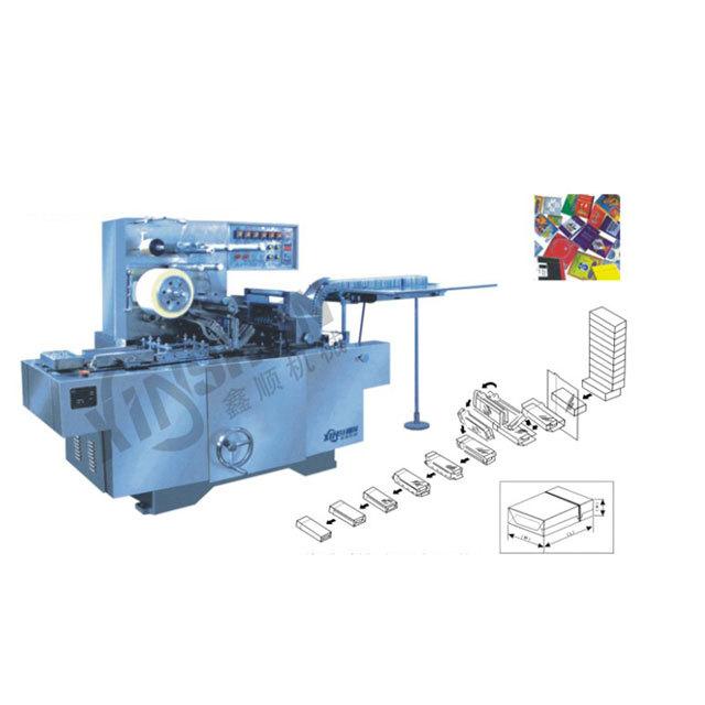 XS-350X型可调式透明膜三维包装机(带防伪易拉线)